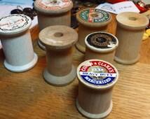 Wood Spools