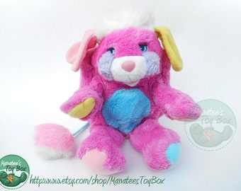 Prize Popple Plush 1980s Toy by Mattel
