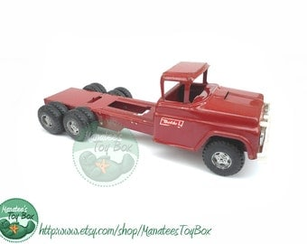 Vintage 1960'S BUDDY L Toy Truck Cab in Red