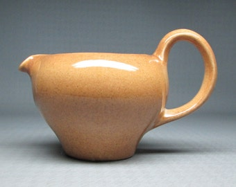 Russel Wright apricot redesigned creamer  , Iroquois Casual