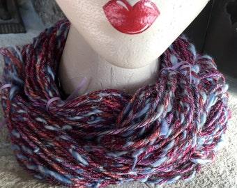 Hand Spun Art Yarn - Cormo Wool - 90 Yards - 2 ply