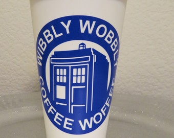 Doctor Who...Dr Who...Wibbly Wobbly Coffee Woffee...Tumber