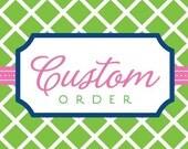 Custom listing for Jessi