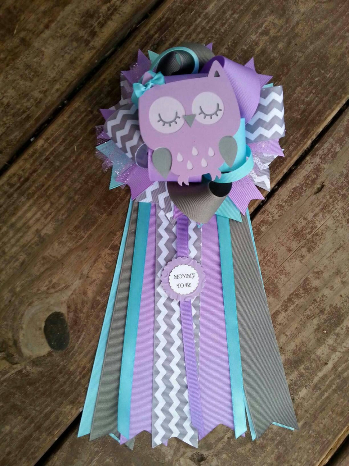 owl baby shower purple baby shower mum by bonbow on etsy