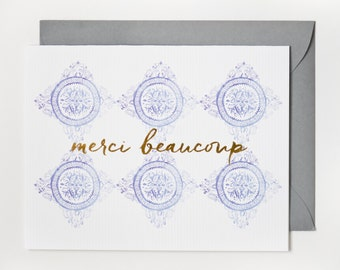 Merci Beaucoup (Thank You) / Gold Foil