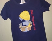 Custom Construction birthday shirt