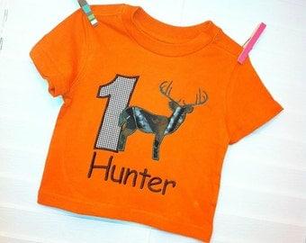 Custom Camo / hunting birthday shirt