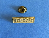 Vintage 7-Eleven Thanks A Million Pin Brooch
