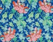 11277 Amy Butler PWAB136 Violette Field Poppy in Sky  color - 1 yard