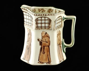 Antique Royal Doulton Friars Seriesware Hexagonal Pitcher D2536