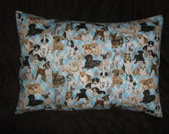 DOGS/ PUPPIES Travel/Accent/Lumbar pillow cover