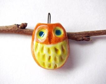 Night Owl Pendant Earthenware Clay
