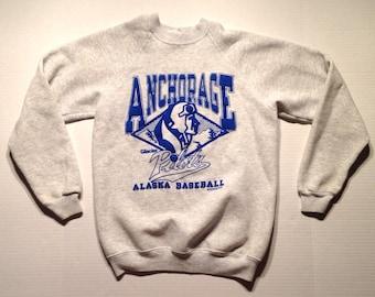 1991 Anchorage Glacier Pilots sweatshirt, fits like a small