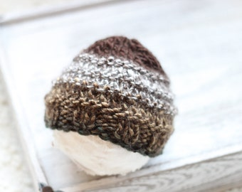 New born Knitted Beanie Hat, New Born Hat