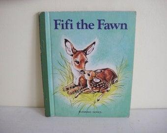 Vintage Fifi the Fawn Diamond Series Books by Evalisa Agathon - 1976