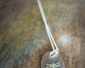 Dragonfly Pendant, Soldered Charm Silhouette Jewelry, Tiny Dragonfly Statement Necklace,  Memorial Jewelry Gift for Her