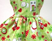 NEW Tossed Christmas, Winter and Holiday Dress