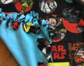 SALE Fleece Blanket - Star Wars Knotted Fleece Blanket