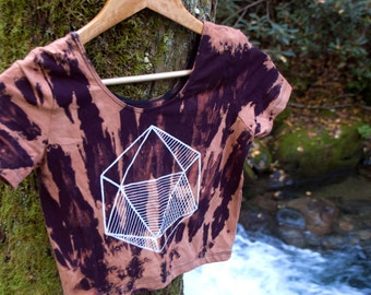 Cosmic Center | Eco Friendly Crop | Hand Dyed