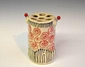 Handmade Ceramic Vase, Flower Vase, Personalized Vase, Proposal Vase