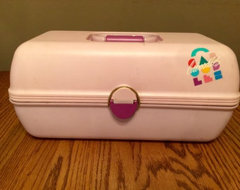 1980's Caboodle Makep Box