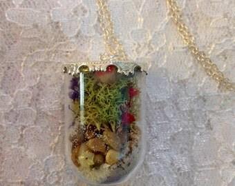 Terrarium Locket Necklace