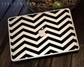 Chevron Stripe Macbook Decal - Macbook Sticker - Macbook Decal - Laptop Decal - Laptop Sticker