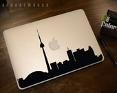 Toronto Skyline Macbook Decal 1 | Macbook Sticker | Laptop Decal | Laptop Sticker | Car Sticker