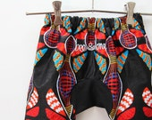 Wild African Kids Harem Pants Size One Year