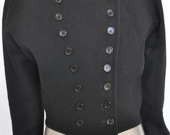 Alaia vtg fitted Jacket uniform style Azzedine Alaia 90s collectible Alaia
