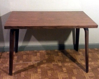 Mid Century Modern Thonet Coffee Table Bent Wood