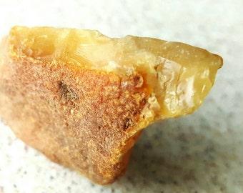 Baltic Amber Bead 13 gr. Yellow