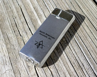 Antique North American Aviation Lighter - Chrome Vintage Collectible Lighter