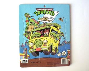 Vintage Teenage Mutant Ninja Turtles Puzzle, Rose Art