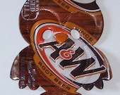 Owl Magnet - A&W Root Beer Soda Can