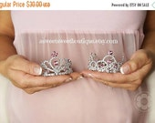 Maternity Photo Prop Baby Girl Maternity Prop Pink Mini Crown Photo Prop Maternity And Newborn Photo Prop Baby Pink Tiara Baby Headband