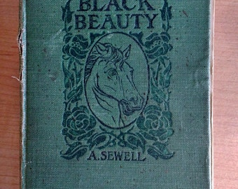 Antique Black Beauty 1890 Humane Society Edition Many Extras Illustrated First Humane
