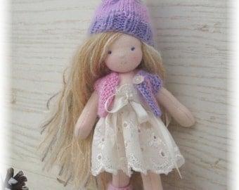 Waldorf doll, steiner doll 6 inches
