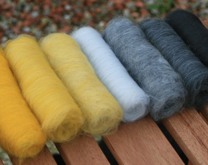 Grey Wagtail Gradient batt set