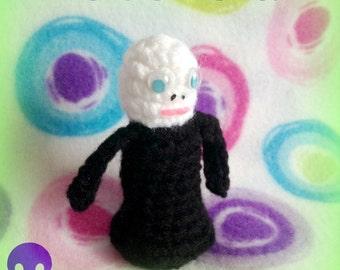Oct. 28 ~ Voldemort Mini Plushie! ~ 31 Nights of Halloween by MW