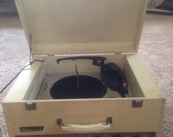 webcor portable record player *local pickup, or we'll make arrangements*