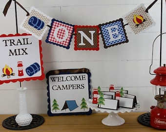 Camp Birthday Package, Camping Party, Smores Party, Lumberjack, First Birthday, Camp Decorations, Camping Party, Glamping, Outdoors-Woodland