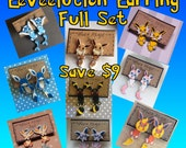 Eeveelution Faux Fauge Clinging Earrings Earrings Full Set - Save Money!