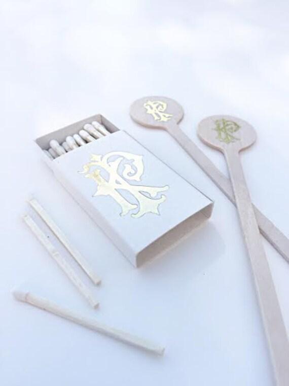 Wedding Matches Wedding Matchboxes Custom Matches Foil Matches