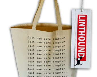 Book Lover's Mantra Natural Canvas Grocery Tote Bag