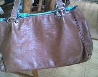 Vintage Claudia Firenze Italian Leather Handbag