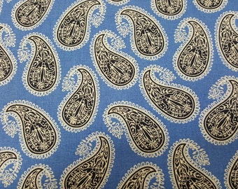 Paisley by David Textiles 100% Cotton by the yard