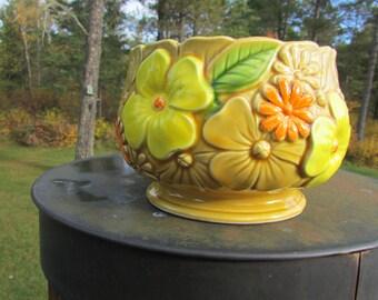 Relpo Vintage Floral #6424 Planter