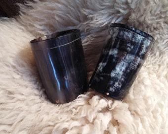viking shot glass horn