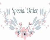 Special Order for Janna J.   12 x 9 Dog Portrait by Jemmas Gems